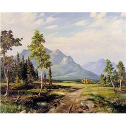 Duncan Mackinnon Crockford - UNTITLED; DIRT ROAD