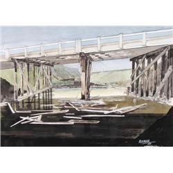 George Weber - BRIDGE OVER THE STURGEON, NORTH OF