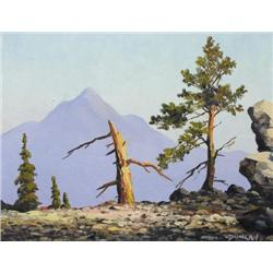 Duncan Mackinnon Crockford - UNTITLED; A MOUNTAIN