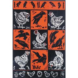 Dora Helen Mackie - CROWS AND CHICKENS