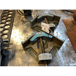 2 AC-100 VISE CLAMPS