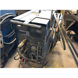 MILLER MILLERMATIC 200 CV.DC ARC WELDING POWER SOURCE/WIRE FEEDER