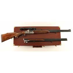 Gottfried Juch Double Rifle .375 H&H & 20Ga