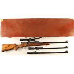 Mauser Model 66S 3 Barrel Set SN: SG35402