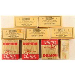 .366-250 & 9.3mm cal Bullets