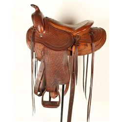 Bohlin Roping Saddle