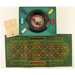 1941 E.S. Lowe Miniature Roulette Wheel