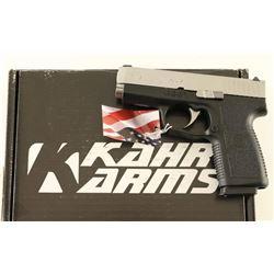Kahr CW9 9mm SN: EM3970
