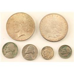 Small U.S. Silver Coin Lot