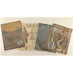 Collection of Polychrome Original Sheet Music