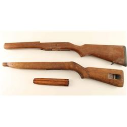 Lot of 2 Rifle Stocks