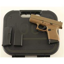 Glock 43 9mm SN: BFUC847
