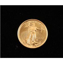 Liberty 2000 1/10oz $5 Gold Coin
