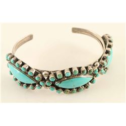 Sterling & Turquoise Cuff