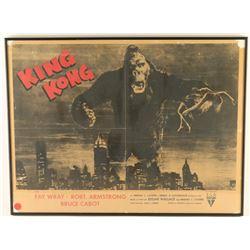 Vintage 1932 RKO King Kong Movie Poster