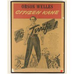 """Original Orson Wells RKO """"Citizen Kane"""" Movie"""