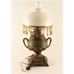 "Original ""New Rochester"" Oil Parlor Lamp"
