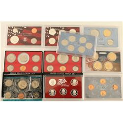 Lot of 6 Coin Sets