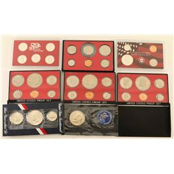 Lot of 7 Coin Sets