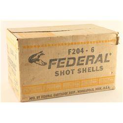 Case of Federal 20Ga Ammo