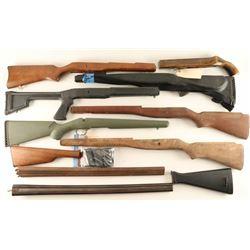 Box Lot of Various Rifle Stocks