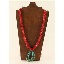5 Strand Necklace with Jukla