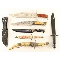 Lot Of 17 Knives