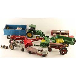 Lot of Metal Farm Toys