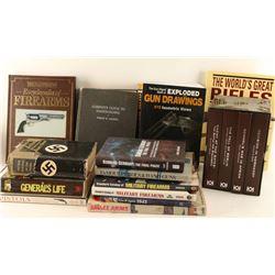 Large Lot of Gun Books