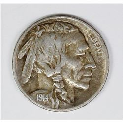 1914-S BUFFALO NICKEL