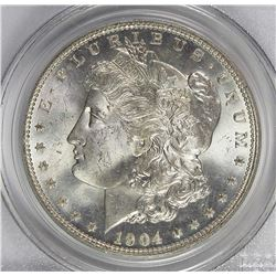 1904-O MORGAN SILVER DOLLAR
