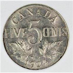 1924 CANADA NICKEL