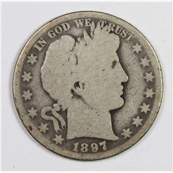 1897-O BARBER HALF DOLLAR