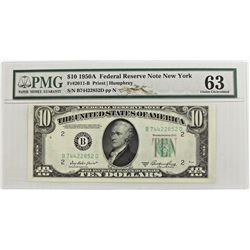 1950-A $10 FEDERAL RESERVE NOTE