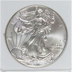 2011-W AMERICAN SILVER EAGLE