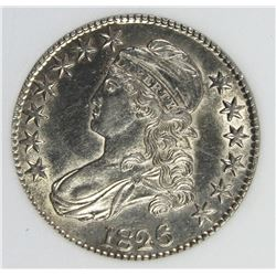 1826 BUST HALF DOLLAR