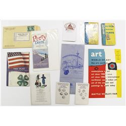 COLLECTION OF COIN & STAMP BOOKS