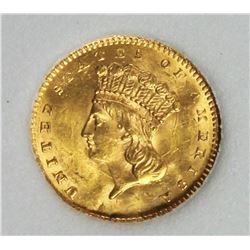 1861 GOLD DOLLAR