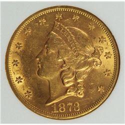 1873 $20 GOLD