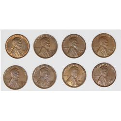 (8) LINCOLN CENTS