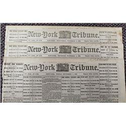 THREE DIFFERENT CIVIL WAR NEWSPAPERS