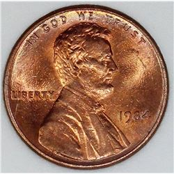 1984 DOUBLE EAR LINCOLN CENT