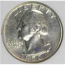 1950 WASHINGTON QUARTER