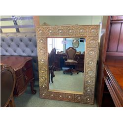 REU-WIL GOLD ORNATE WALL MIRROR
