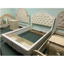 3 PCS SLF DOUBLE SIZE ROOM GEAR 2 DRAWER STORAGE BED INCLUDING ; HEADBOARD, FOOTBOARD,
