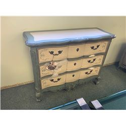 PALASKI 3 DRAWER PAINTED ACCENT CHEST