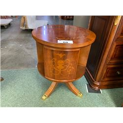 EMPIRE CRAFTSMAN INLAID OCCASIONAL TABLE