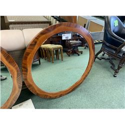 ANTICO CIRCULAR INLAID PATTERN WALL MIRROR