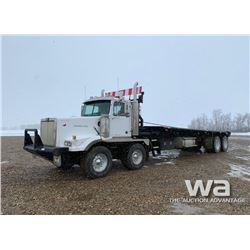 1999 WESTERN STAR 4964SX T/A T/A BED TRUCK