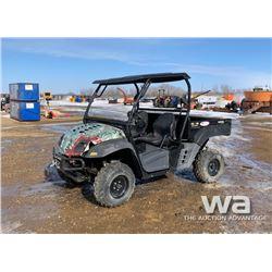 2012 CUB CADET 875 SIDE BY SIDE ATV